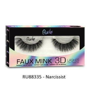 Rude Brand Faux Mink 3D Lashes in Narcissist